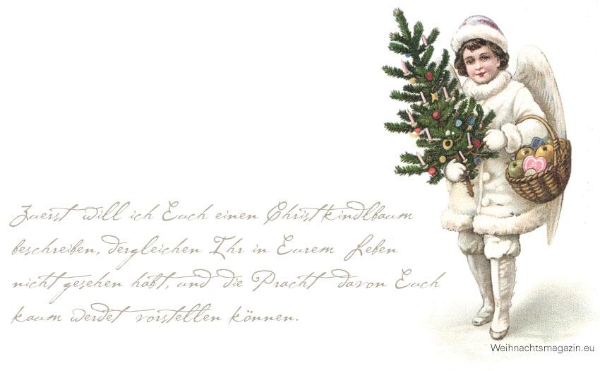 Peter Rosegger der erste christbaum