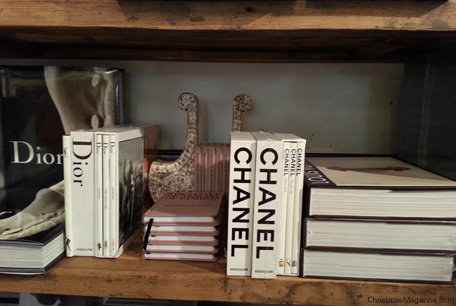 Coco Chanel Deko Buch Wohn Design