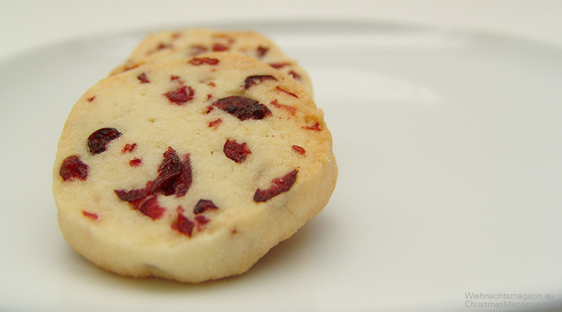 Mikados mit Cranberries, selber backen